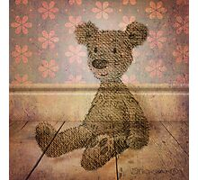 Barely There Bear Photographic Print