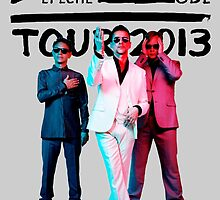 Depeche Mode : Tour 2013 with official photo 2 Black by Luc Lambert