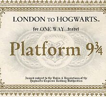 Hogwarts Express Ticket by Serdd