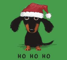 Doxie Clause Baby Tee
