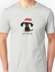Doxie Clause Unisex T-Shirt