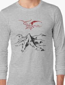 [The Hobbit] - Lonely Mountain (Light) Long Sleeve T-Shirt