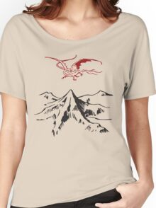 [The Hobbit] - Lonely Mountain (Light) Women's Relaxed Fit T-Shirt