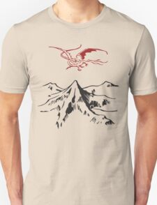 [The Hobbit] - Lonely Mountain (Light) T-Shirt