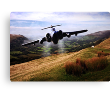 Low level Buccaneer Canvas Print