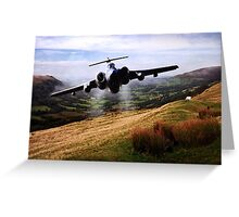 Low level Buccaneer Greeting Card