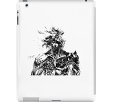 Metal Gear Rising Raiden Black and White iPad Case/Skin