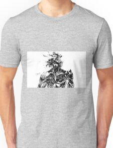 Metal Gear Rising Raiden Black and White Unisex T-Shirt