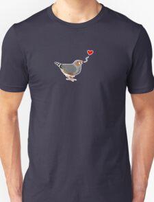 Zebra Finch Love T-Shirt
