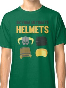 Skyrim ultimate helmets Classic T-Shirt