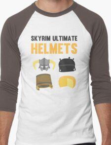 Skyrim ultimate helmets Men's Baseball ¾ T-Shirt