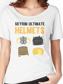 Skyrim ultimate helmets Women's Relaxed Fit T-Shirt