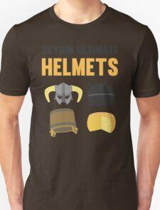 Skyrim ultimate helmets Unisex T-Shirt