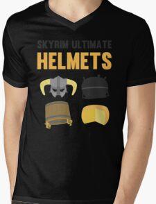 Skyrim ultimate helmets Mens V-Neck T-Shirt