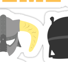 Skyrim ultimate helmets Sticker
