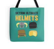Skyrim ultimate helmets Tote Bag