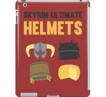 Skyrim ultimate helmets iPad Case/Skin