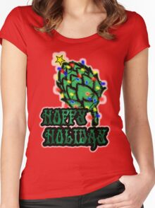 Hoppy Holiday Women's Fitted Scoop T-Shirt