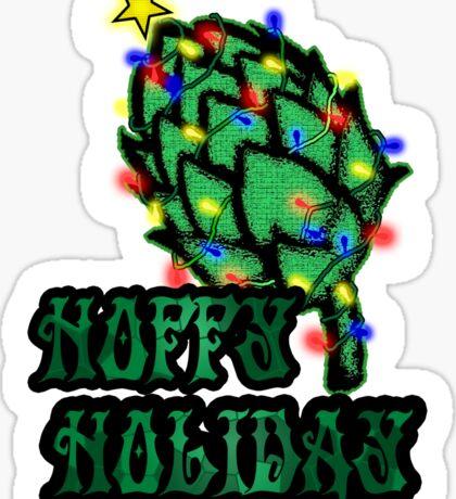 Hoppy Holiday Sticker