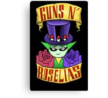 Guns N' Roselias  Canvas Print