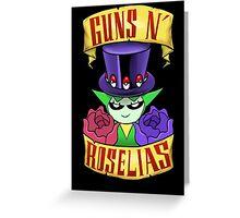 Guns N' Roselias  Greeting Card