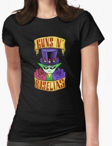 Guns N' Roselias  Womens Fitted T-Shirt
