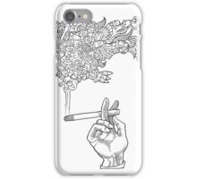 Catfish Cigarette by John Howard iPhone Case/Skin