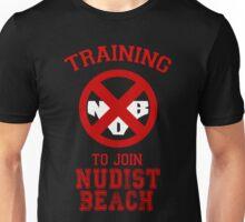 Training to join Nudist Beach Unisex T-Shirt