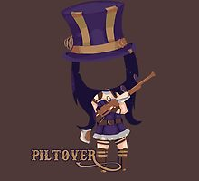 Caitlyn the Sheriff of Piltover by Roes Pha