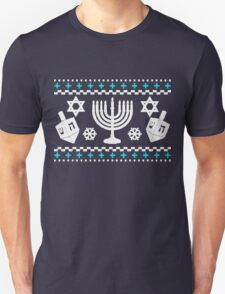 Funny Hanukkah Ugly Holiday Sweater Unisex T-Shirt