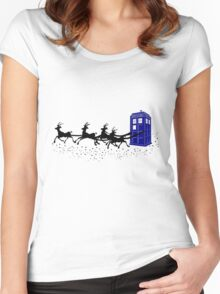 The Doctor's Christmas 2! Women's Fitted Scoop T-Shirt