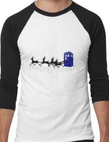 The Doctor's Christmas 2! Men's Baseball ¾ T-Shirt