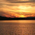 Sunset at Chester Frost State Park by Christopher  Ewing