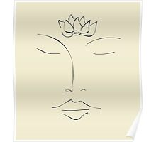 Meditation - Lotus Flower Poster