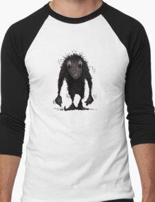 Funny Cute Scary Troll Men's Baseball ¾ T-Shirt