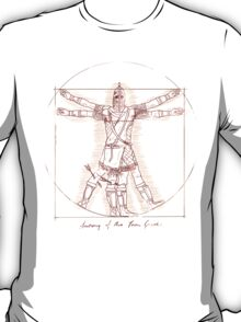 Anatomy of a Town Guard T-Shirt