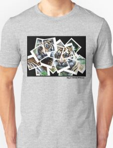 Photographs of Tigers Unisex T-Shirt