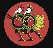 Retro Seventies Zodiac Gemini by Danielle Kerese