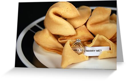 Sweet Proposal by Maria Dryfhout