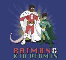 Ratman & Kid Vermin   Big Bang Theory by mrkyleyeomans