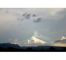 Active Volcano, Pucon, Chile Photographic Print
