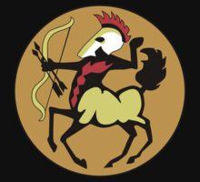 Retro Seventies Zodiac Sagitarius by Danielle Kerese