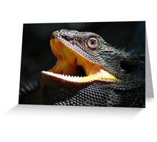 Eastern Bearded Dragon Greeting Card