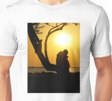 man and sunset Unisex T-Shirt