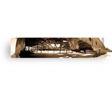 Maheno Shipwreck Panorama Canvas Print