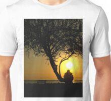 sunset view Unisex T-Shirt