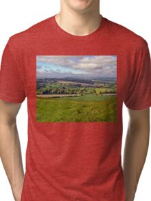 Wiltshire Countryside Tri-blend T-Shirt