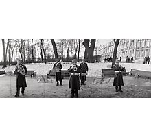 And The Russian Band Began To Play Photographic Print