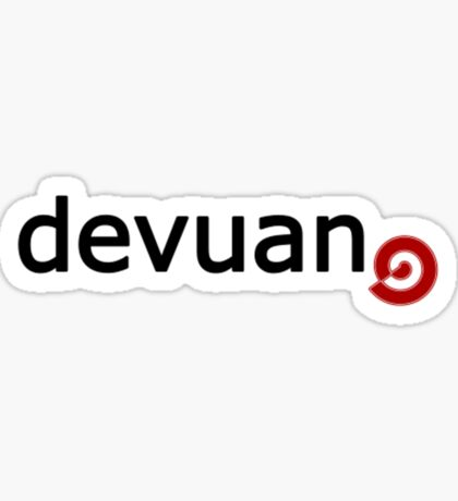 Devuan - Debian Fork Sticker