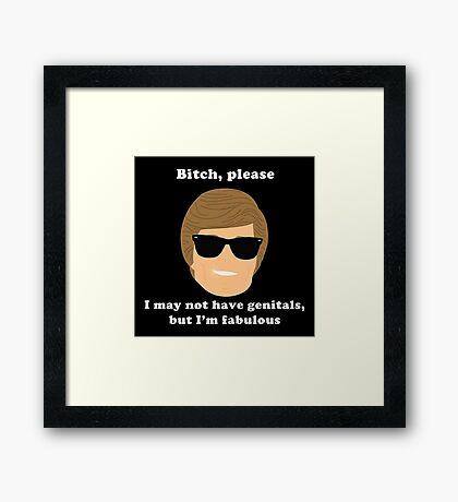 Fabulous Ken  Framed Print
